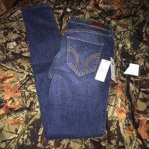 NWT hollister skinny jeans size 7L